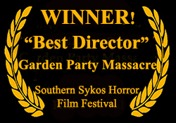 Southern Sykos Film Festival Directing Award Laurel